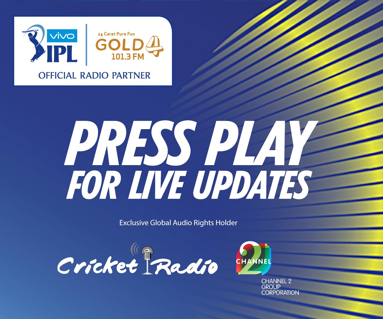 IPL press play for live updates