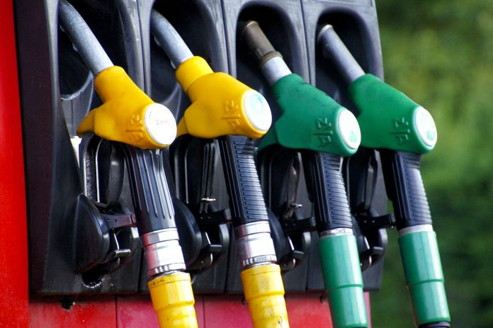 Petrol prices if July