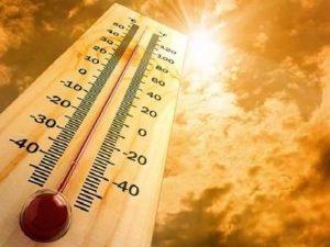 Temperature in UAE