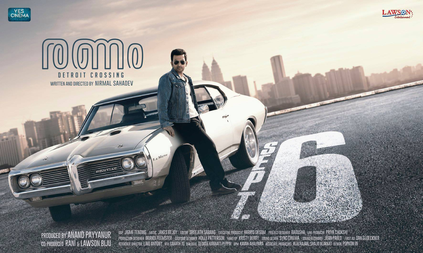 Ranam will be hitting the theatres on September 06, 2018.